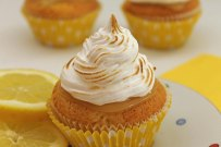 Lemon Pie Cupcakes