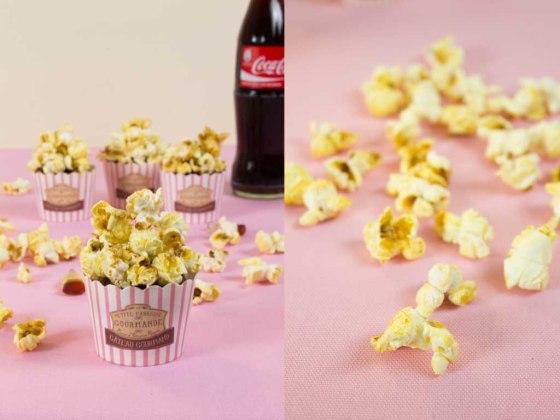 Cola Popcorn Muffins