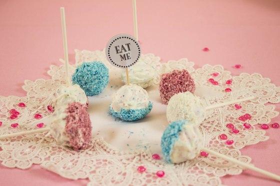 Kokos Mascarpone Cake pops