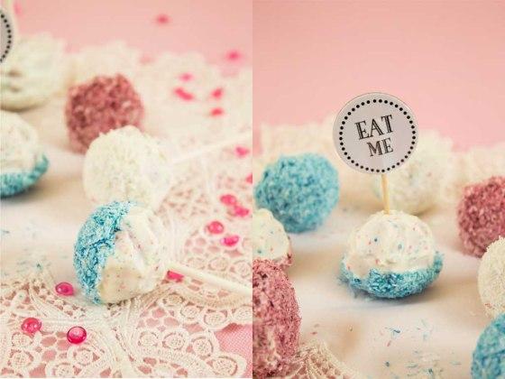 Kokos Mascarpone Cake-Pops