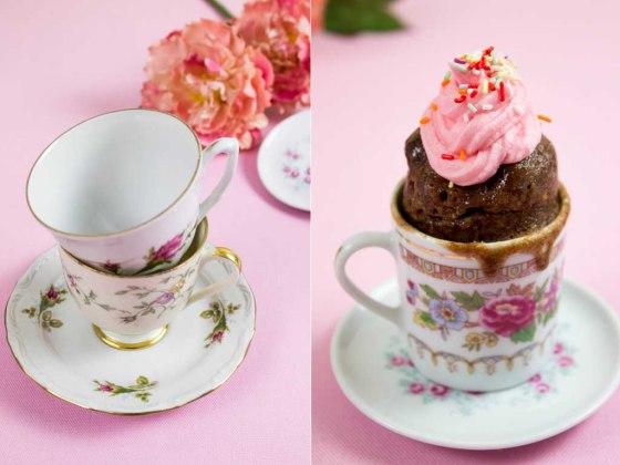 Nutella Tassenkuchen